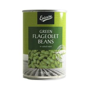 Epicure Beans Flageolet Green 400g