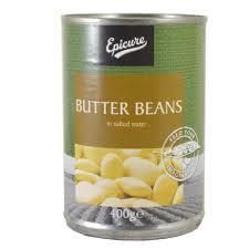Epicure Beans Butter 400g