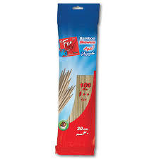 Al Bayader International Bamboo Skewer 100pc