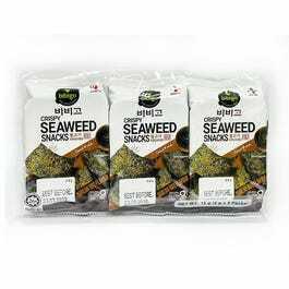 Bibigo Snack Seaweed Bbq 3X5g