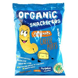 Organic Larder Snackeroos Cheese Puffs 15g