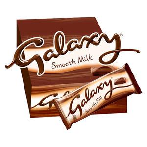 Galaxy Milk Chocolate Bar Multipack 12x90g