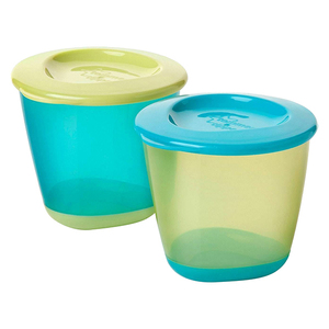 Tommee Tippee Storage Pots 2pc