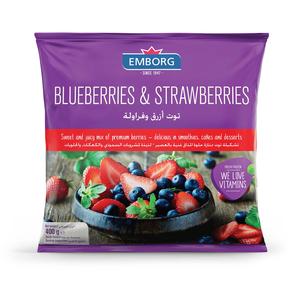 Emborg Strawberry And Blueberry 400g