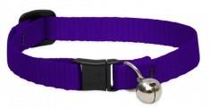 Lupine Cat Collar Purple With Bell  1/2 Basics 1pc