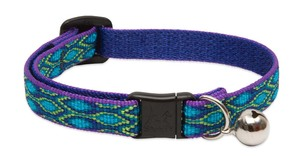 Lupine Cat Collar Rain Song With Bell  1/2 Basics 1pc