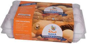 Saha Paste Shell Eggs White/Brown 24x15s
