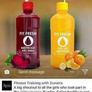 Fit Fresh Beetroot & Orange Juice 330ml