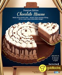 Goldilocks Choco Cake Slices 12x90g