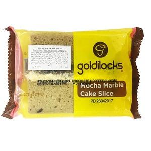 Goldilocks Mocha Marble Cake Slice 12x78g