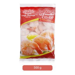 Co-op Frozen Large Shrimps 500g