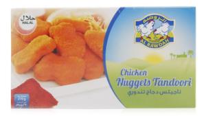 Al Rawdah Chicken Nuggets Tandoori 270g