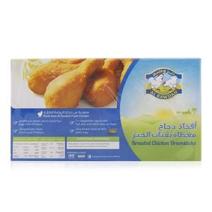 Al Rawdah Breaded Chicken Drumsticks 400g