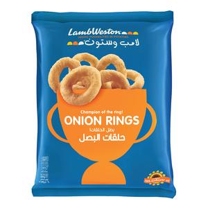 Lamb Weston Frozen Crispy Onion Rings 600g