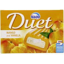 Igloo Fruit & Cream Mango Duet Multipack 5x65ml