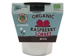 Organic Larder Raspberry Sorbet 500ml