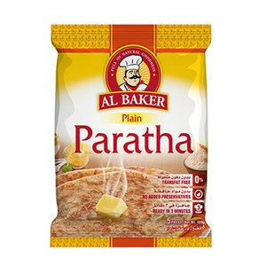 Al Baker Plain Paratha 4x400g