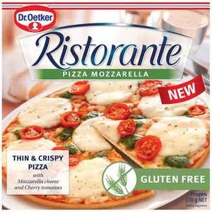 Dr.Oetker Ristorante Gluten Free Mozzarella Pizza 370g