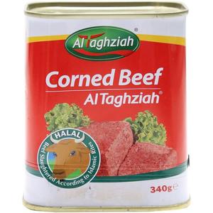 Al Taghziah Beef Corned 24x340g