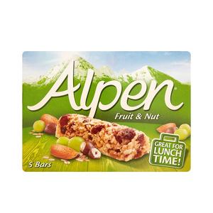 Alpen Fruit & Nut Cereal Bars 5x28g