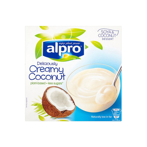 Alpro Soy Dessert With Classic Coconut 4x125g