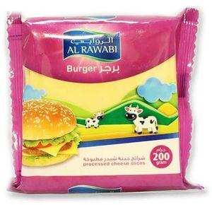 Al Rawabi Burger Slice 200g