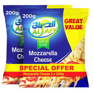 Al Safi Mozzarella Cheese 2x200g