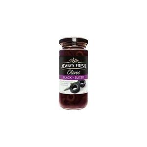 Always Fresh Sliced Black Spanish Olives 6x235g