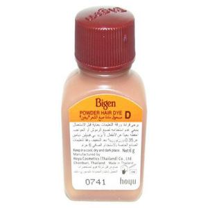 Bigen Semi Permanent Hair Dye Chestnut Brown 6g