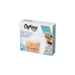 Cofique Iced Coffee Hazelnut 10x24g