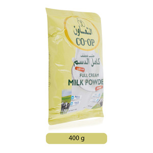 Co-op Full Cream Milk Powder 400g