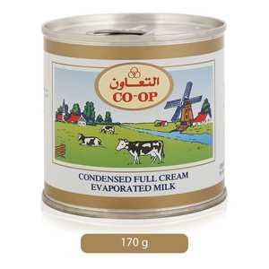 Co-op Condensed Full Cream Evaporated Milk 170g