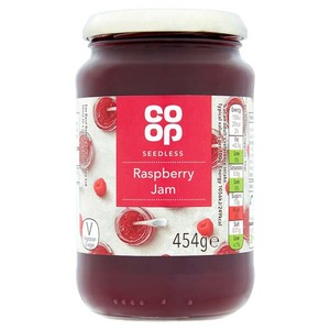 Co-op Fruit Jam Raspberry 370g