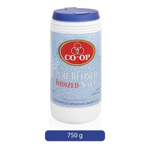 Co-op Pure Refined Iodized Salt 750g