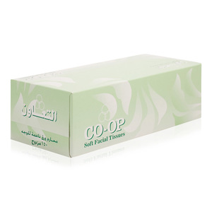 Co-op Soft Facial Tissues White 150s