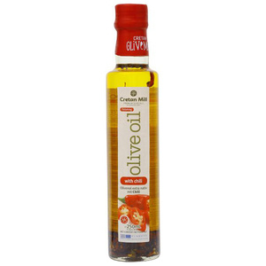 Cretan Olive Mill Extra Virgin Olive Oil With Chili 250ml
