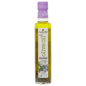 Cretan Olive Mill Extra Virgin Olive Oil With Rosemary 250ml