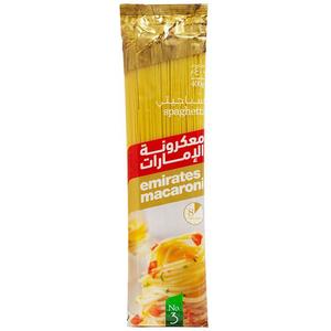Emirates Macaroni Spaghetti 400g