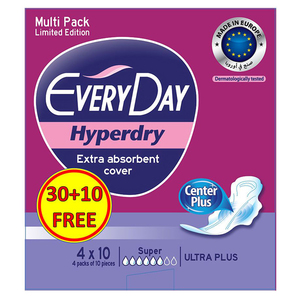 Everyday Sensitive Ultra Plus Super Pads 10s