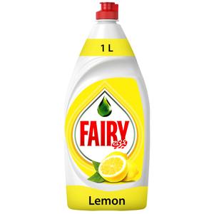 Fairy Lemon Dish Washing Liquid Soap 6X1L