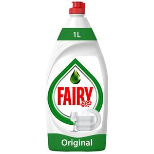Fairy Original Dish Washing Liquid Soap 6x1L