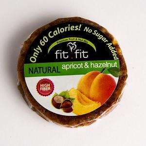Fitfit Natural Apricot Paste And Hazelnut 40x25g