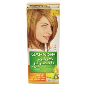 Garnier Color Naturals Nourishing Cream Hair Dye 7.3 Hazel Blonde 1pc
