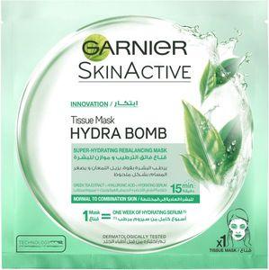 Garnier Green Tea Hydrating Face Tissue Mask 32g