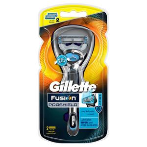Gillette Fusion Pro Shield Chill Flex Ball Men's Razor 6pc