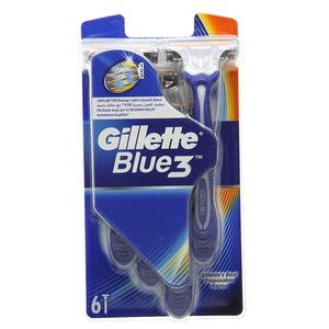 Gillette Blue3 Cool Men's Disposable Razor 6pc