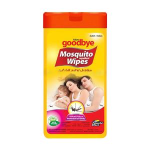 Goodbye Goddbye Mosquito Wipes 12pc