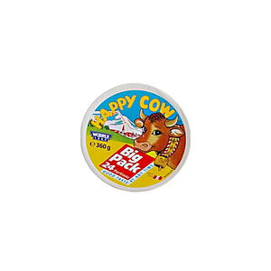 Happy Cow Big Pack Portion Cheese 360g