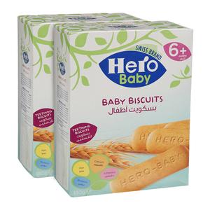 Hero Baby Biscuits 2x180g