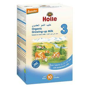 Holle Organic Growing-Up Biodynamic Milk Formulae 3 From 10 Months 600g